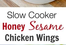 Chicken wings dishes