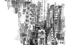 Sketchbook | Drawing City