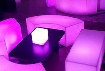 Ambientación Led / Ambientacion con mobiliarios leds en Avellaneda