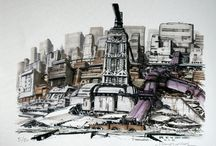 """The Fifth Element"" Original Concept Art"