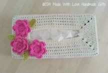 Crochet Tissue Box