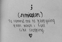 ;semicolon