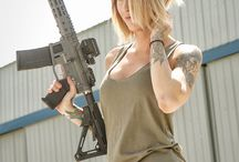 Girls With Guns / Women with weapons for no reason at all..