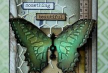 Tim Holtz Cards & Tags / by Rebecca Post
