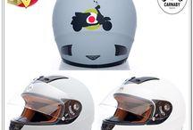 Scooter helmets