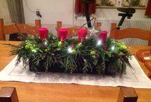 Stukjes van mij kerst / Veel groen verwerkt !