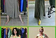 Model pakaian ulang