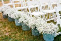 Outdoor wedding deco ideas