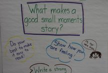 Writing workshop - small moments