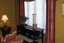 Debbie Erb window treatments / window treatment ideas