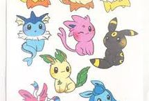 Eeveelutions! / I really love the Eeveelutions
