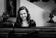 Senior Piano Photo Ideas