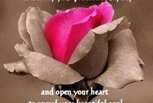 Kärlek till Jaget / Det vi ger, från hjärta och själ, till oss själva ger vi också till de vi älskar. När vi mår bra, när vi är upplever balans och harmoni så vidarebefordrar vi det automatiskt vidare till människor runt omkring oss. I stället för att snäsa åt snabbkökskassörskan så ger du henne eller honom ett spontant leende, från hjärtat, även om du är stressad. Det är i det lilla vi ger det stora. Och vi kan bara ge det lilla om vi är stora nog att först ge oss själva det vi verkligen behöver.