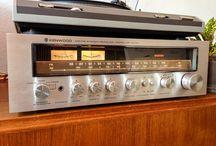 KENWOOD / Vintage & Retro Stereo & Hi-Fi Electronics