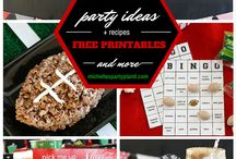 Football Party Ideas// Michelle's Party Plan-It