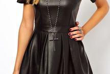 Fancy Leather dress
