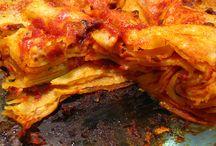 Primi piatti / Primi piatti asciutti e in minestra a base di pasta, riso, cereali, legumi.