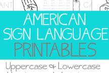 Sign Language / by Beth Hubert