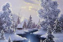 téli képek.