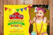playdoh birthday party