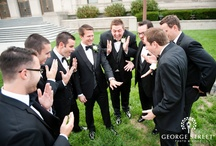 Groom Photographs / Catch your groom and groomsmen in fun photos! Love these ones from local MA weddings.