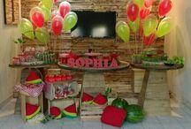 Melancia Party #Sophia4anos