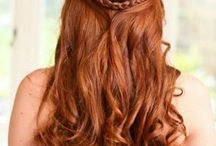 Wedding updos and styles