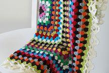 Бабушкин квадрат. Африканский цветок. / вязание крючком