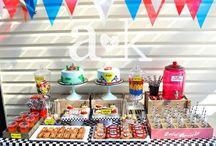 A&K Lolly Buffet { Disney Cars Rustic Birthday Dessert Table}