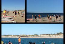 FITLATES PADDLE avec SUN TRAINING / Séance de Fitlates paddle avec Jérémy BON