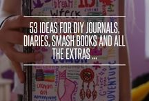 Smash book diaries and journals
