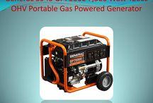Generac 5943 gp7500e 7,500 watt 420cc ohv portable