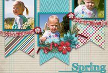 scrapbook layouts 2 2015 / by Jolene McCormick