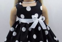 sewing / making doll clothes