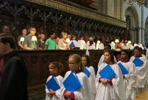 Choir tour to the UK / July 2014 the Cathedral Choirs with a shadow tour of parents and Cathedral members toured England