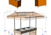 projeto barraca artesanato