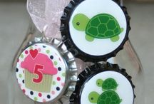 bottle cap projects / by Dawn Frazier