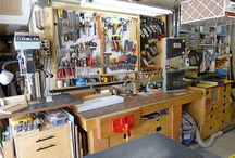 Garage workshop organisation