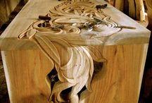 inspiracje z drewna