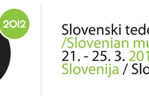 Slovenski teden glasbe (STG 012) / Vse, kar se dogaja na slovenskem tednu glasbe, 21.-25.3  / by Radio Terminal