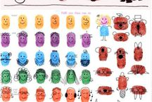 Kids Fingerprint Art