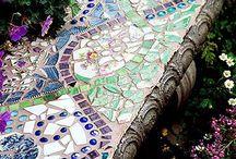 Mosaic pavers