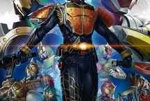 Kamen Rider / Japanske Superhelte