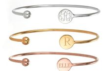 Initially yours.  / All things monogrammed.