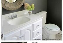 Make-overs bathroom