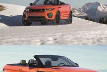Range Rover Evoque / Ta tablica jest na temat terenowego auta jakim jest Range Rover Evoque.