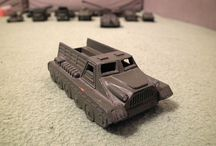 Old Russian Military Toys Collection for SALE / Early 1960's