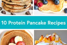 Pancakes Recipes / Healthy pancake recipes (low, carb, low fat, no sugar, paleo, ...)