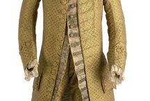 mužský oděv pol.18.stol.