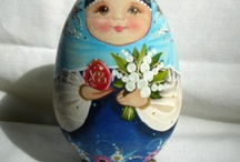 Decoupage egg / Decoupage egg